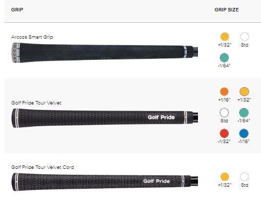 Grips Série de fers Ping G710